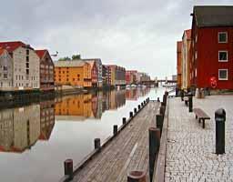 Самостоятельные туры по Норвегии в Тронхейм