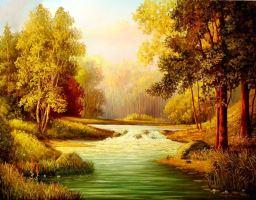 Красота русской природы на холсте знаменитых художников