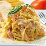 Рецепты спагетти карбонара, секреты выбора ингредиентов и добавления