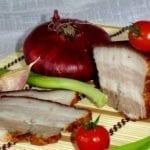 Рецепты сала в луковой шелухе, секреты выбора ингредиентов и
