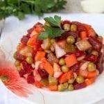 Винегрет – вкусно, сытно, экономно: всего 22 рубля за 4 порции