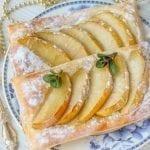 Десерт – слойки с яблоками – Дешево и очень вкусно!