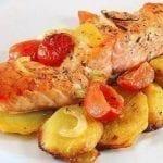 Рецепты красной рыбы с картошкой – 5 вариантов
