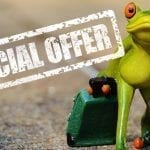 Big discounts and special prices!