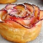 Рецепты розочек из слоеного теста с яблоками, секреты выбора