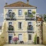 Художник превращает стены зданий в произведения искусства
